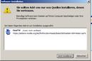 Firefox Abfrage ob, die Erweiterung installiert werden soll